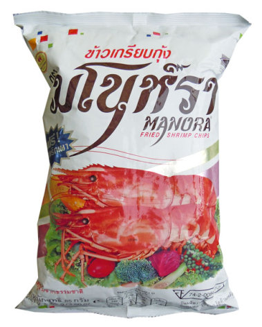 Shrimp Chips 85 g Manora