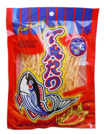 Taro Fish Snack Hot Chili