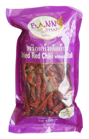 Dried Chili Whole Bannthai