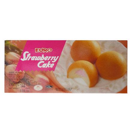 Strawberry Cake 144g Euro