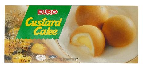Custard Cake 144g Euro