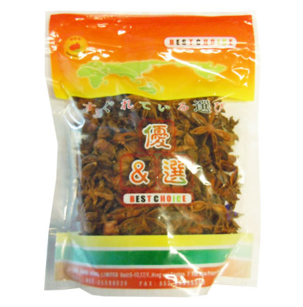 Star Anis Seed 100g Double Peach Brand