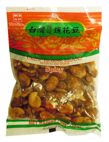 Horse Bean Spicy 143g Rolin