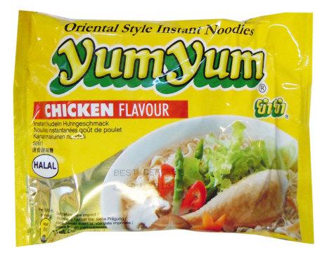 Yum Yum Chicken Noodles