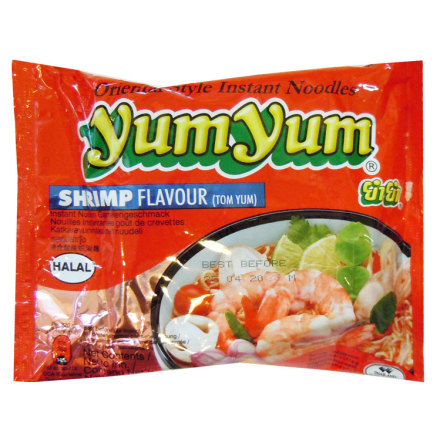 Yum Yum Tom Yum Shrimp Noodles