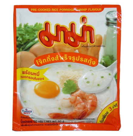Mama Rice Porridge Shrimp 50 g