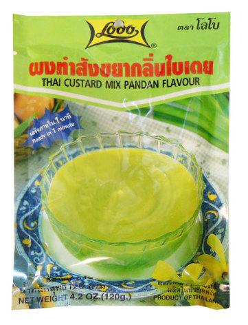 Thai Custard Pandan 120 g