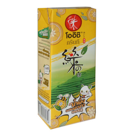 Oishi GreenTea Honey Lemon 250 ml