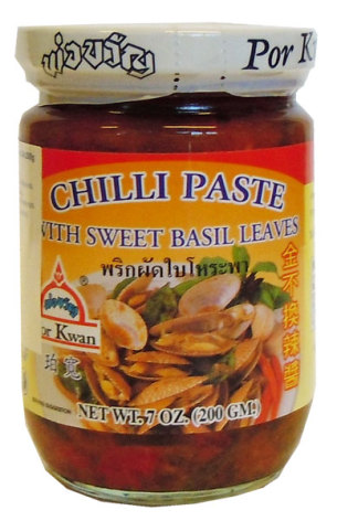 Chili Paste Sweet Basil 200 g
