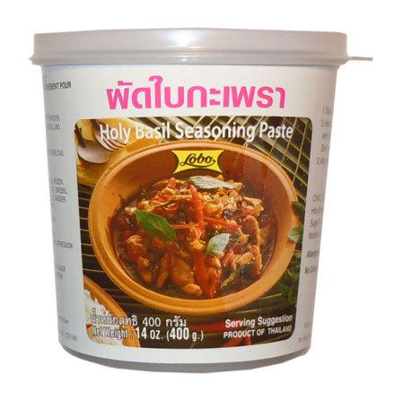 Holy Basil Seasoning Paste 400 g Lobo