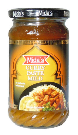 Curry Paste Mild 300g Mida's