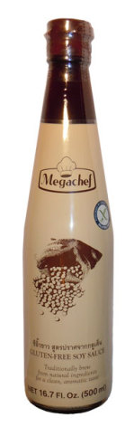 Soy Sauce Glutenfree 500ml Megachef