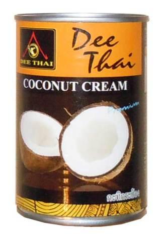 Coconut Cream Dee Thai 400 ml