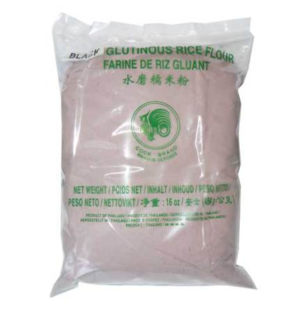Black Glutinous Rice Flour 454g Cock