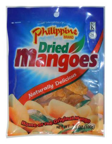 Dried Mango 100g Philippine Brand
