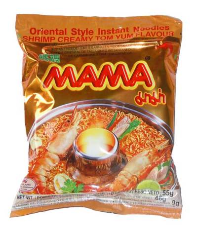 Mama Shrimp Creamy Tom Yum