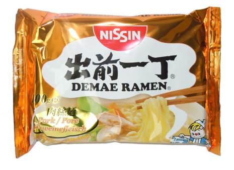 Nissin Noodle Pork 100 g