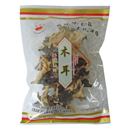 Black Fungus Whole 80g Double Peach
