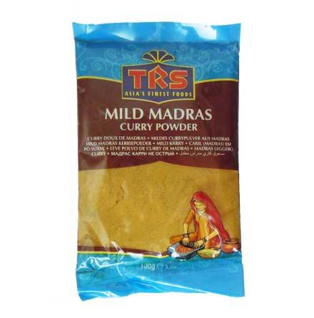 Madras Curry Mild 100 g TRS