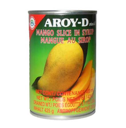 Mango Slice in Syrup 425g Aroy-D