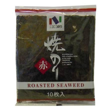 Roasted Seaweed Yakinori 10 blad Niconico