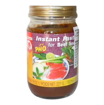 Instant Paste for Beef Soup Phó 227g Cock