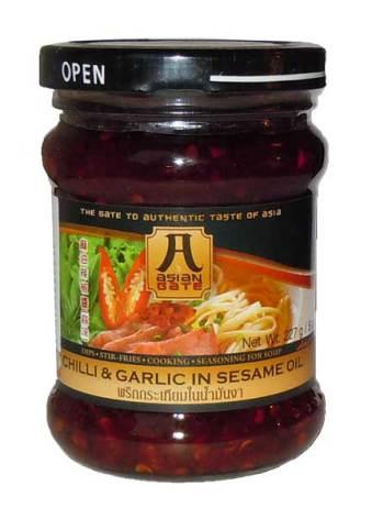 Chilli & Garlic in Sesame Oil 227g Asian Gate