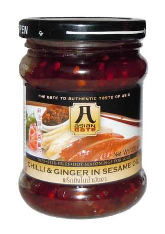 Chili & Ginger in Sesame Oil 227g Asian Gate