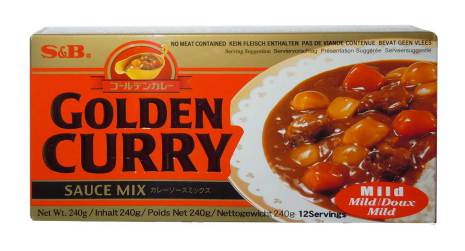Golden Curry (Mild) 240g S&B