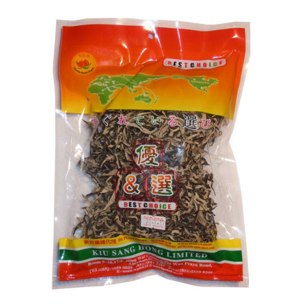 Dried Black Fungus Strip 80g Double Peach