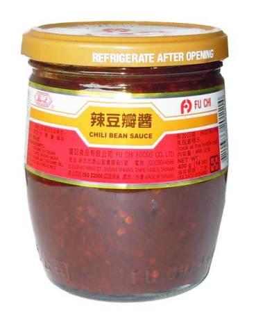 Chili Bean Sauce 400g Fu Chi