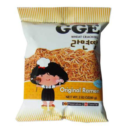 Wheat Crackers Original Ramen 80g GGE