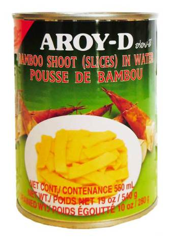 Bamboo Shoot Slice 540 g Aroy-D