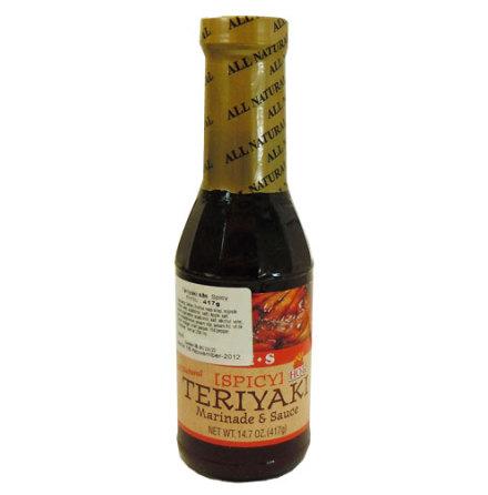 Teriyaki Sauce Hot 417 g J E S