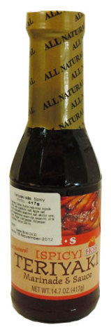 Teriyaki Sauce Hot 417 g J E S