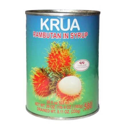 Rambutan in Syrup 565g Krua