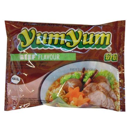 Yum Yum Beef Noodles