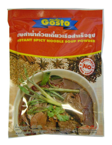 Instant Spicy Noodle Soup Powder 208 g Gosto