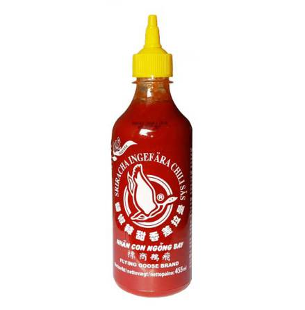 Sriracha Chili Ginger Sauce 455ml Flying Goose