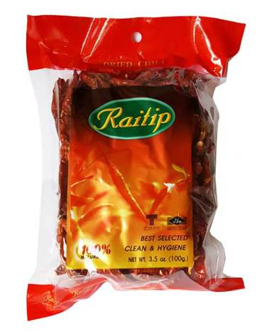 Dried Chili Whole 100g Raitip
