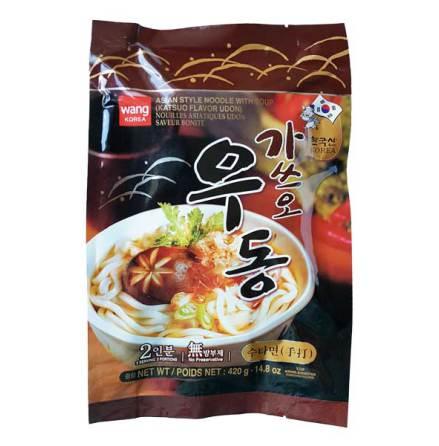 Katsuo Flavor Udon (Katsuomat) 420g Wang