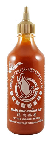 Sriracha Chili Sauce Extra Garlic 455ml Flying Goose