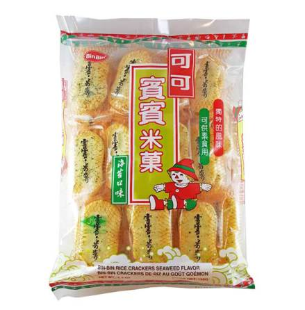 Bin Bin Rice Cracker Seaweed 150g