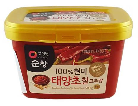 Hot Pepper Paste Gochujang 500g Chung Jung One