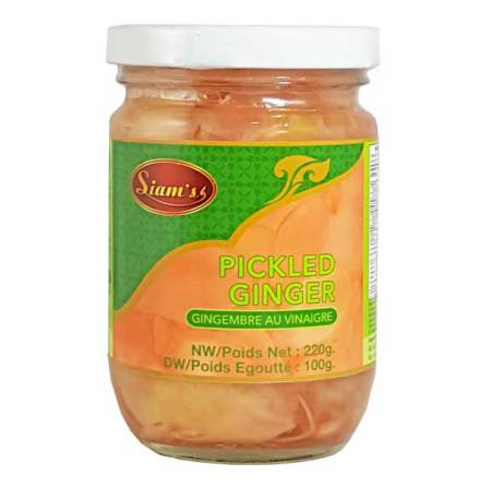 Seasoning Pickled Ginger 220 g Siam´s