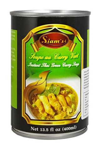 Green Curry Soup 400ml Siam´s