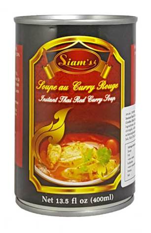 Red Curry Soup 400ml Siam´s