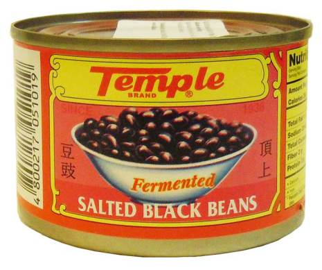 Salted Black Beans 180g Temple