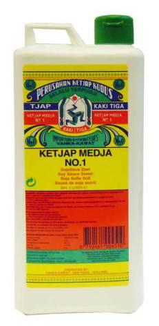 Ketjap Medja No.1 1 liter Kaki Tiga