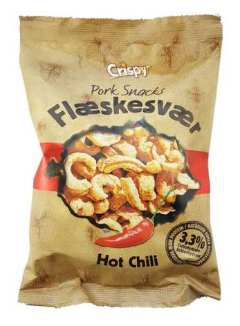 Fläsksvålchips Chili 70g Crispy